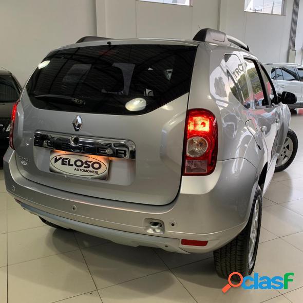 Renault duster dynamique 1.6 hi-flex 16v mec. prata 2014 1.6 flex