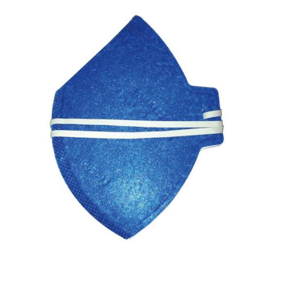 10 máscaras de proteção descartável azul