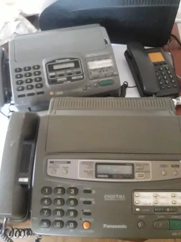 2 aparelho de fax panasonic mod. kx-f750 e kx-f890 e 1 telef