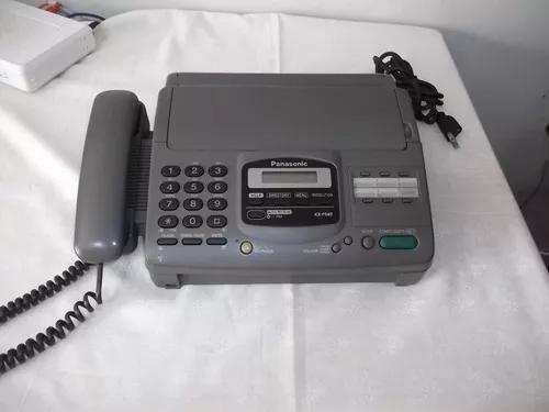 Aparelho fax com secretaria eletrônica panasonic kx-f580