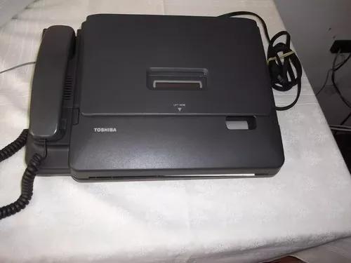 Aparelho fax e telefone toshiba 5400