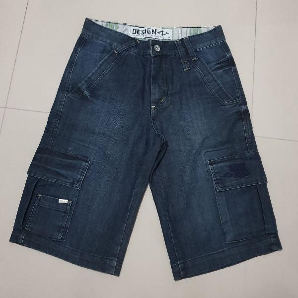 Bermuda jeans design tam. 36