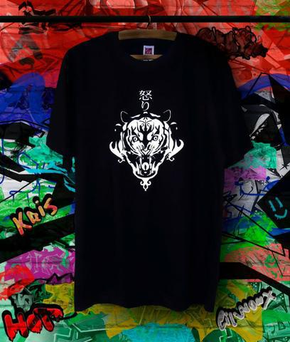 Camiseta com estampa de tigre