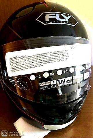 Capacete fly 61