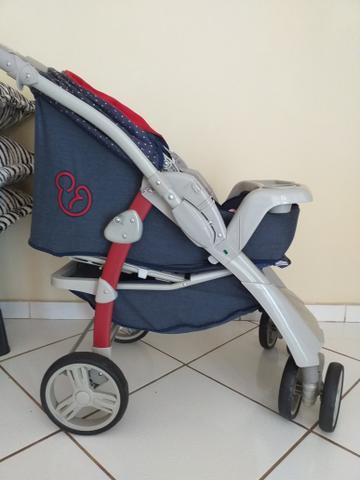 Carrinho de bebe galzerano optimus jeans