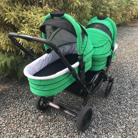 Carrinho de bebês para gêmeos