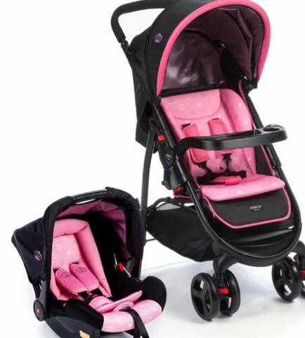 Carrinho travel system cosco - carrinho + bebe conforto