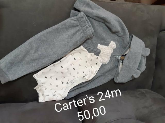 Carter's 3 pecas usado 1x