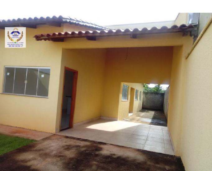Casa 2 quartos 1 suite, área de 85 m2 em lote de 186 m2 no