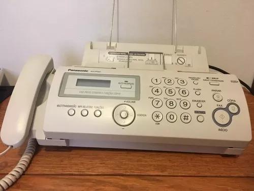 Fax panasonic kx fp207 - novo excelente estado