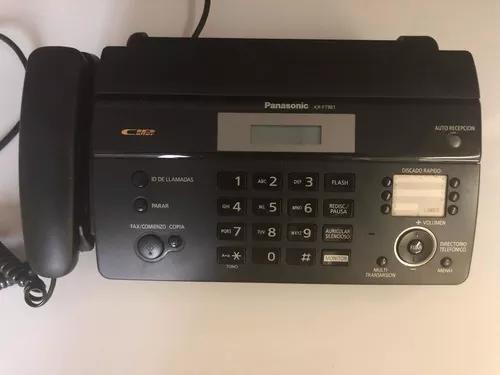 Fax panasonic kx ft981