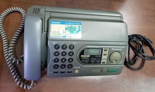 Fax panasonic kx-ft38 usado excelente estado