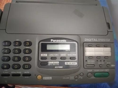 Fax telefone e secretaria panasonic kx-f890