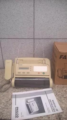 Fax/telefone philco phax200