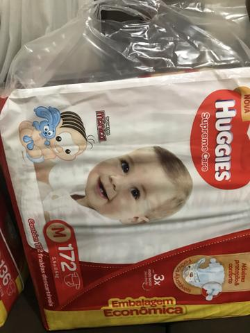 Fralda huggies supreme care