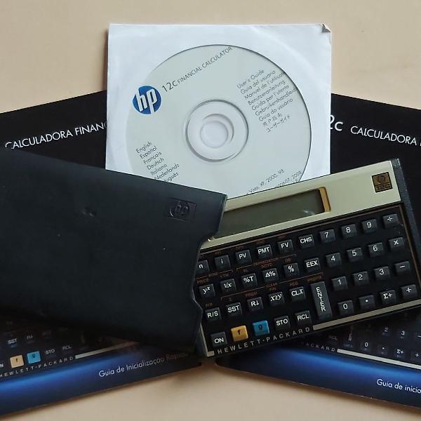 Hp calculadora financeira 12c gold