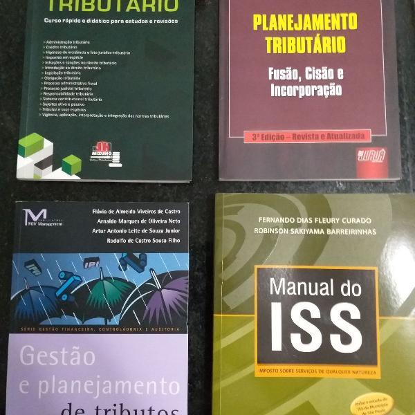 Livro direito tributário (diversos títulos)