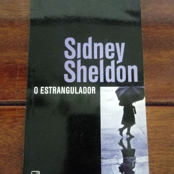 Livro o estrangulador, de sidney sheldon