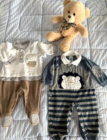 Lote de roupas bebê menino