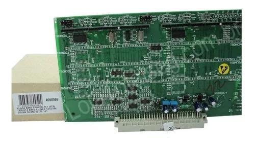 Placa base tronco (2) pabx 141 ou 95 digital intelbras