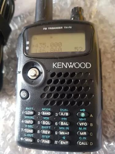 Radio amador ht kenwood th-f6