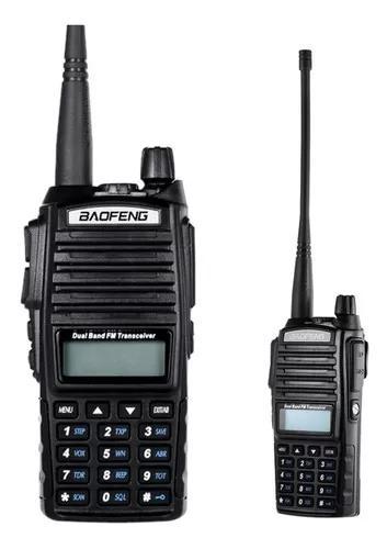Radio comunicador baofeng uv82 dual band fm walk talk amador
