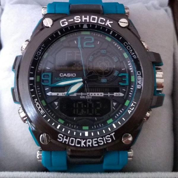 Relógio g-shock importado steel aço robusto