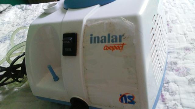 Semi novo inalador compressor inalar ns compact bivolt, um