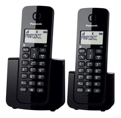 Telefone s/ fio + 1 ramal panasonic kx-tgb112lbb dect 6.0