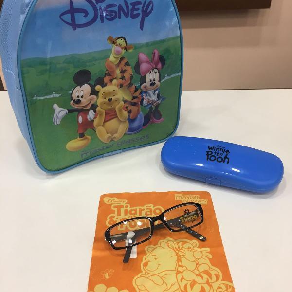 Armação óculos infantil tigrão pooh p02 2664 c911