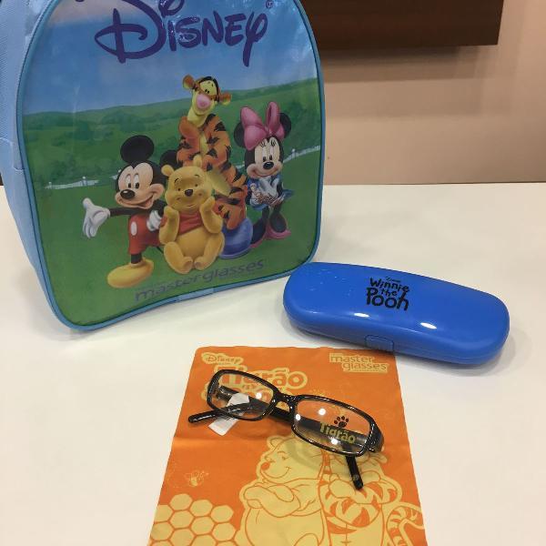 Armação óculos infantil tigrão pooh p02 2786 c1021