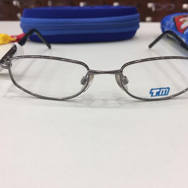 Armação óculos infantil turma mônica 1002 preto