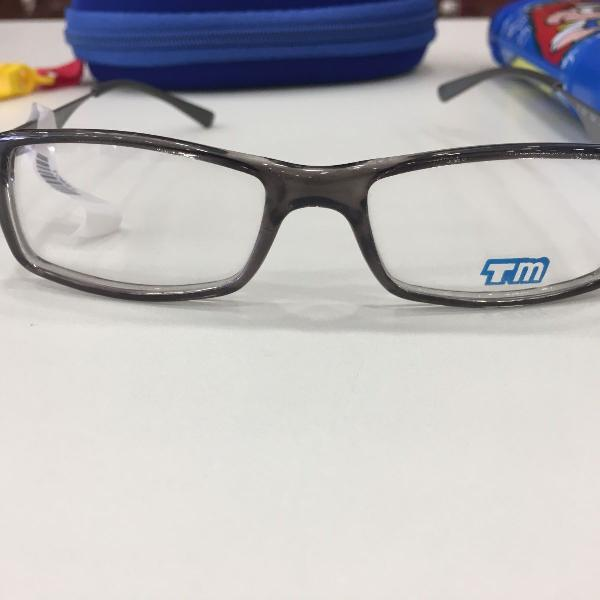 Armação óculos infantil turma mônica 3021 cinza