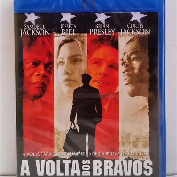 Blu ray a volta dos bravos home of the brave lacrado
