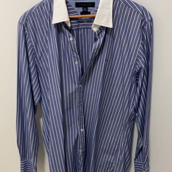 Camisa masculina de manga longa