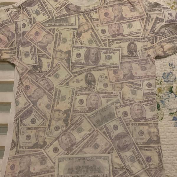 Camiseta dollar importada eua