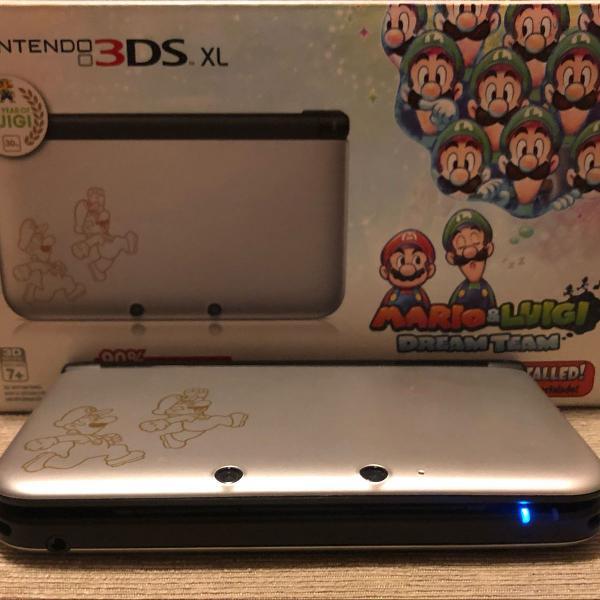 Console nintendo 3ds xl (mario & luigi: dream team
