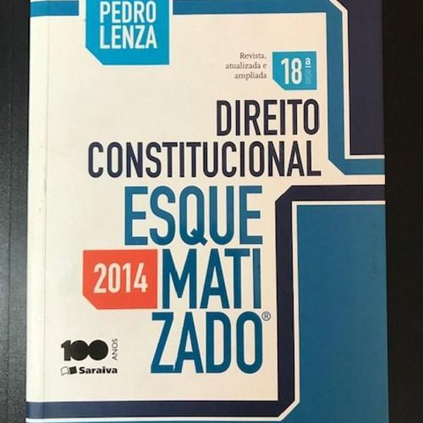 Direito constitucional esquematizado - pedro lenza - 2014 -
