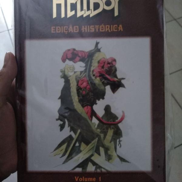 Hellboy edição histórica - volume 1
