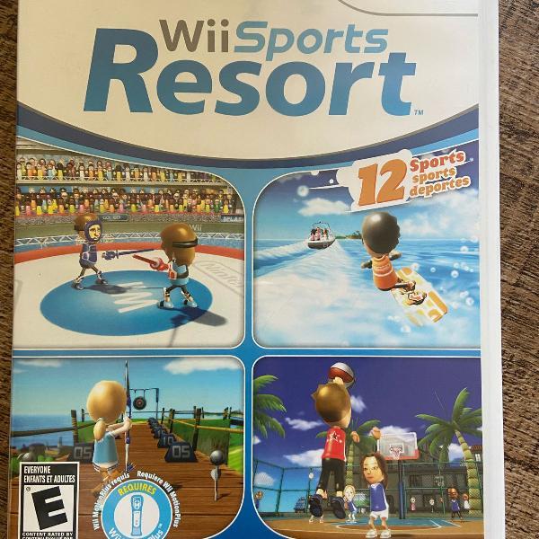 Jogo nintendo wii sports resort