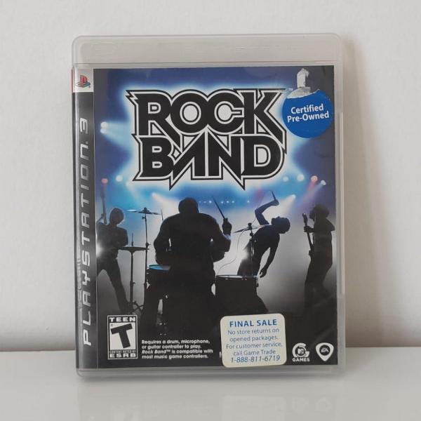 Jogo rock band ps3 (usado) mídia física