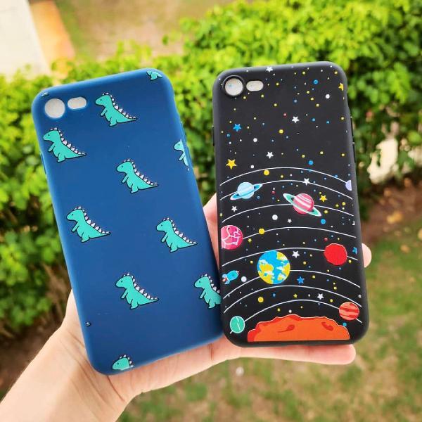 Kit capa case capinha iphone 7 e 8