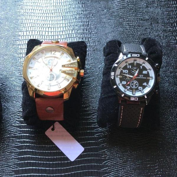 Kit relógios masculinos