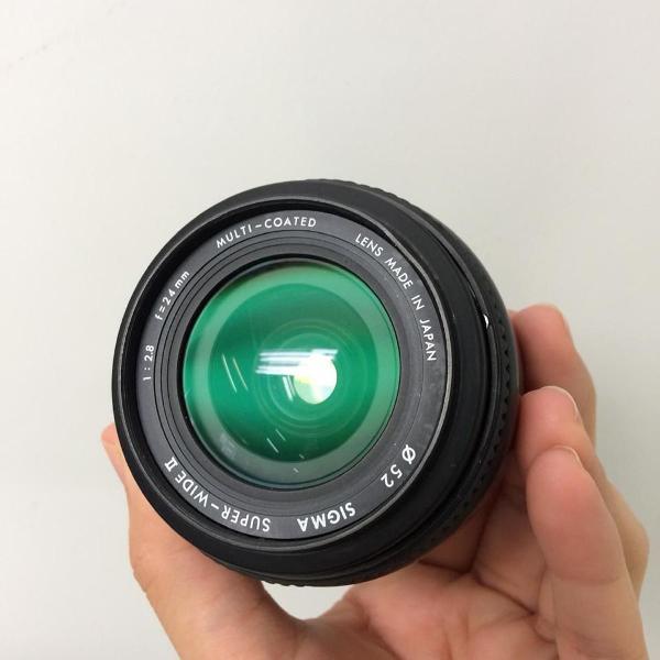 Lente sigma 50mm 2.8 para canon