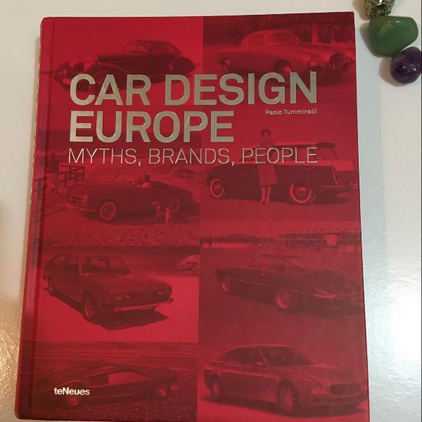 Livro car design europe