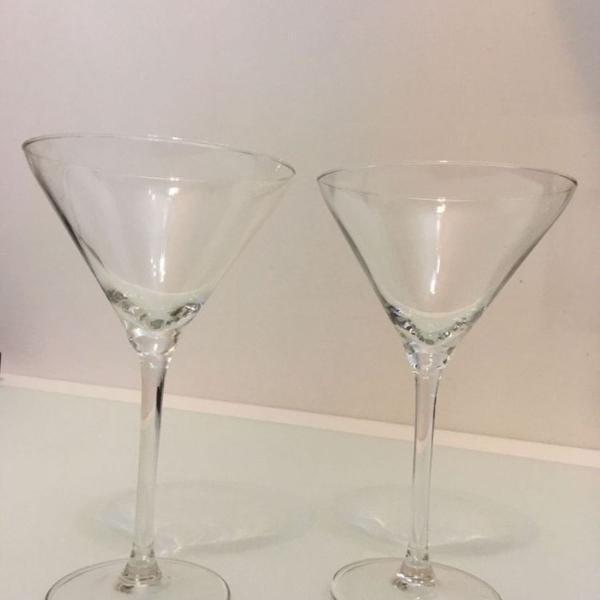 Par de taças martini / cosmopolitan