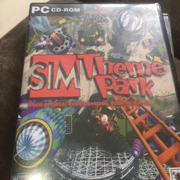 Pc cd rom sim theme park