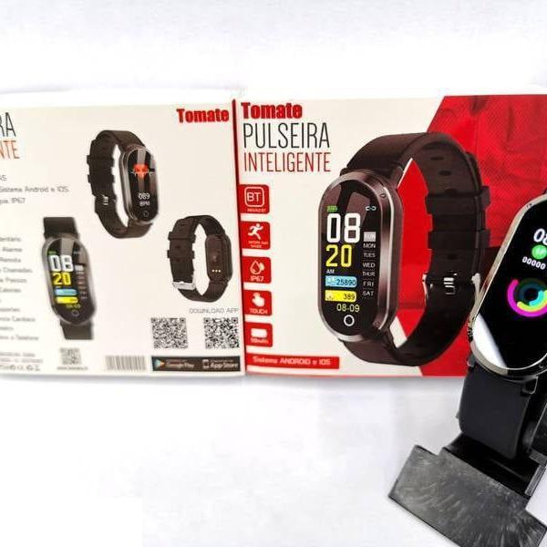 Pulseira smart de corrida monitor cardíaco tela colorida