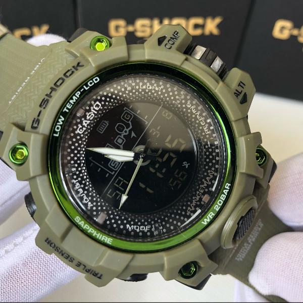 Relógio casio g shock verde