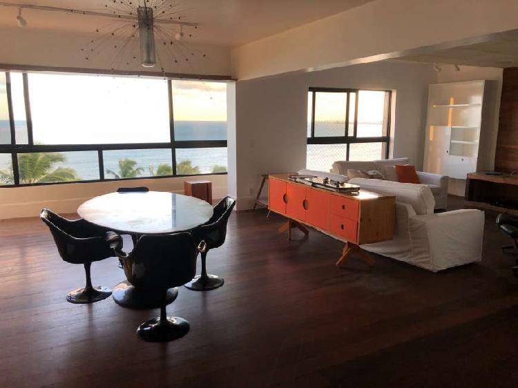 Apartamento beira mar de ponta verde - maceió-al